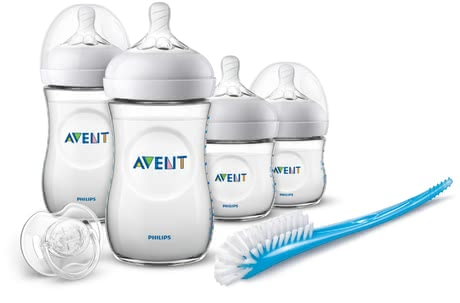 Philips AVENT飛利浦新安怡Natural 新生兒套裝 -  * This great starter set contains everything you as new parents need for providing your little one with optimum care – from baby bottles in different sizes, to teats, to soother. The Avent Natural teats make combining breastfeeding with bottle-feeding much easier.