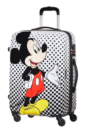 新秀麗Samsonite旗下美旅American Tourister拉桿箱迪士尼Legends -  * This adorable spinner from the Legends Disney Polka Dot collection is the perfect piece of luggage for all Disney fans.