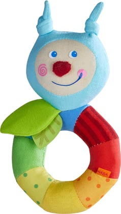 Haba兒童抓握玩具 -  * Haba's colourful clutching toys made from soft fabric encourage your baby to explore them. The cute characters train your little one's fine motor skills in a playful way.