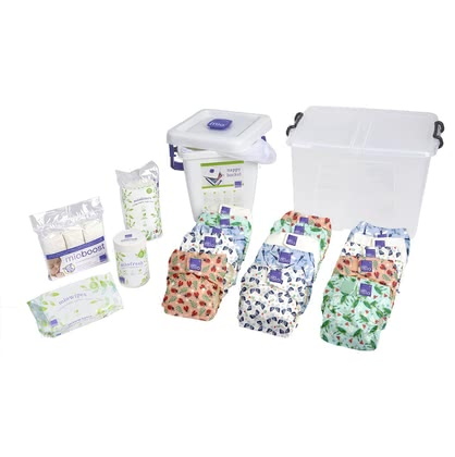 BambinoMio miosolo Premium All-in-One Birth to Potty Pack -  * Welcome to the family of cloth nappy! Stylish and wonderfully easy to use, the award-winning BambinoMio All-in-One cloth nappies will convince all new parents immediately.
