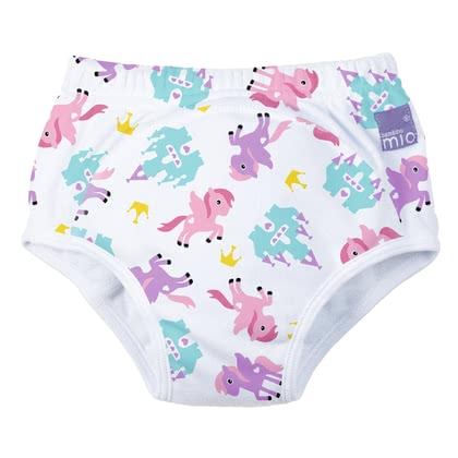 BambinoMio 寶寶訓練褲, 2–3 歲 -  * Is your little one just one step away from using the potty and would like to do without the nappy? Then the potty-training pants by BambinoMio are just the right choice as they are the easy way to transition from nappy to potty.