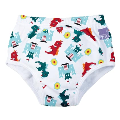 BambinoMio 寶寶訓練褲, 3 歲以上 -  * Is your little one just one step away from using the potty and would like to do without the nappy? Then the potty-training pants by BambinoMio are just the right choice as they are the easy way to transition from nappy to potty.