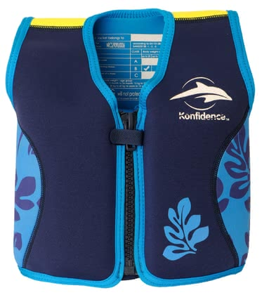 Konfidence 寶寶游泳背心 -  * Among parents and swimming instructors, the Konfidence lifejacket is a popular buoyancy swimming aid. In 1998, the first, original Konfidence children's swim jacket was released. Since then, it has become one of the best-selling swimming aids.
