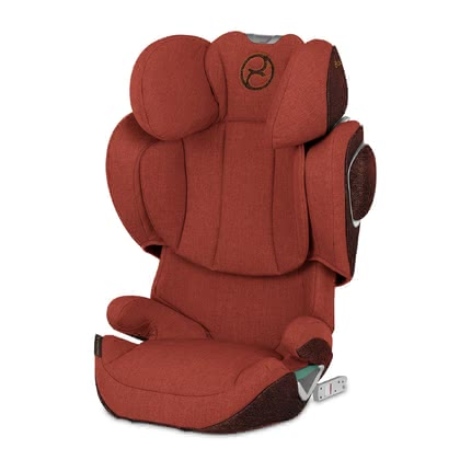 Cybex Platinum 兒童安全汽車座椅 Solution Z-Fix Plus Autumn Gold - burnt red 2020 - 大圖像