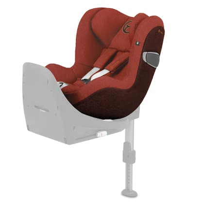 Cybex Platinum 兒童安全汽車座椅 Sirona Z i-Size Plus Autumn Gold - burnt red 2021 - 大圖像