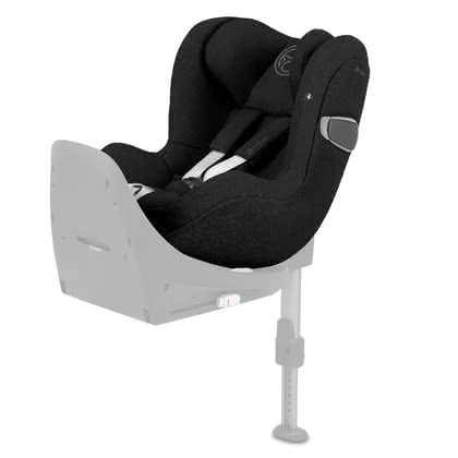 Cybex Platinum 兒童安全汽車座椅 Sirona Z i-Size Plus Deep Black - black 2020 - 大圖像