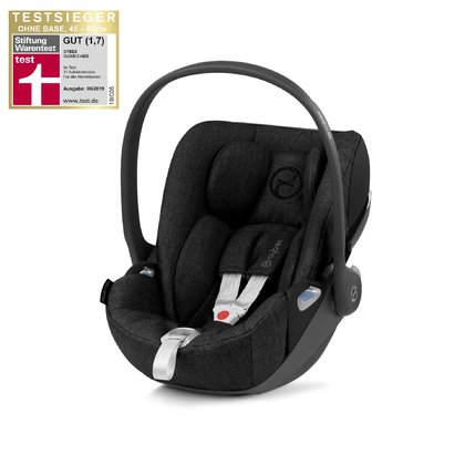 Cybex Platinum 嬰兒提籃 Cloud Z i-Size Plus -  * With a weight loss of 15%, the Cybex infant car seat Cloud Z i-Size Plus is significantly lighter than its predecessor Cloud Q i-Size. The extremely durable fabric with twill effect comes in a trendy denim look and contributes to the sublime design of the Cloud Z i-Size Plus.