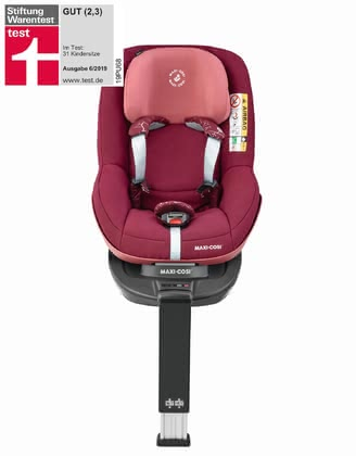 Maxi-Cosi Child Car Seat Pearl Pro i-Size including 3wayFix Marble Plum 2019 - 大圖像