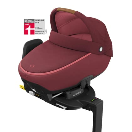 Maxi-Cosi  汽車可使用睡籃 包含3wayFix -  * Maxi-Cosi's Jade is the first R129 approved carrycot for sleeping and travelling. With its flat recline position, traveling in the car is even safer and more comfortable for your baby.