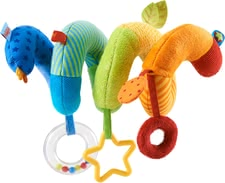 Haba 移動-螺旋多彩掛件玩具 -  * This colourful activity spiral by Haba is perfectly suitable for being attached to infant car seats or cots.