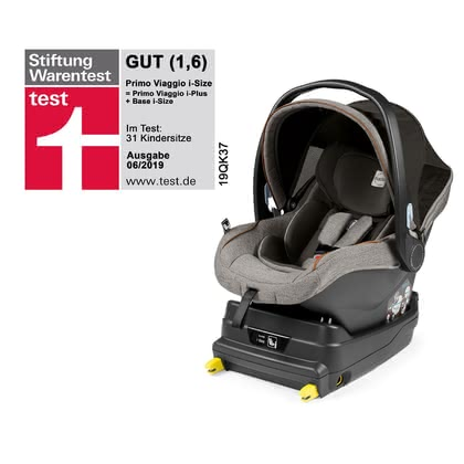 Peg-Perego 嬰兒提籃 Primo Viaggio i-Size 包含 i-Size 底座 -  * The Peg-Perego infant car seat Primo Viaggio i-Size and the base included meet the latest i-Size safety standard.