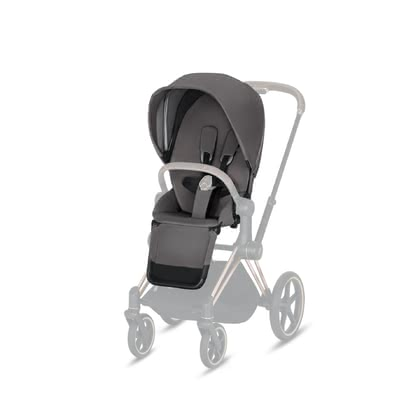 Cybex Platinum Priam Seat Pack 推車座椅部分套裝 Manhattan Grey - mid grey 2019 - 大圖像