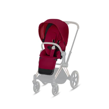 Cybex Platinum Priam Seat Pack 推車座椅部分套裝 True Red - red 2019 - 大圖像