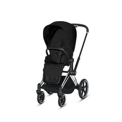 Cybex Platinum Priam Seat Pack 推車座椅部分套裝 Stardust Black Plus - black 2021 - 大圖像