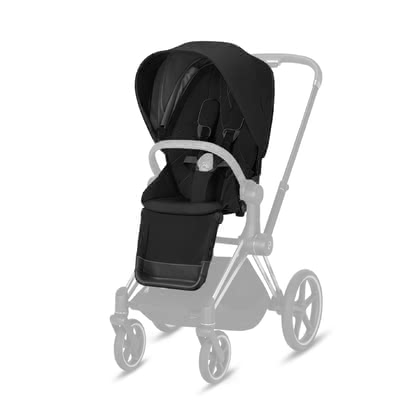 Cybex Platinum Priam Seat Pack 推車座椅部分套裝 Deep Black - black 2021 - 大圖像