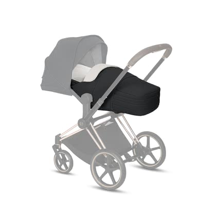 Cybex Platinum Lite 睡袋/腳袋 -  * The new 2-in-1 Lite Cot is matches perfectly with the new Priam and Mios and offers the little ones a protective nest to relax and dream in. For active families, this lightweight insert stands out as the ideal travel companion suitable right from birth.