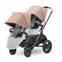 Quinny Hubb Duo 兄弟姐妹/雙人兒童推車 -  * With its extremely narrow width of only 57 cm and its sturdy chassis, the Maxi-Cosi Hubb cuts an exceptionally fine figure as a double stroller.