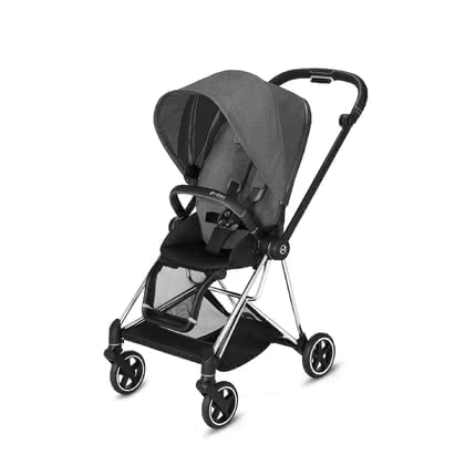 Cybex Platinum MIOS Seat Pack 推車座椅套裝 Manhattan Grey Plus - mid grey 2020 - 大圖像