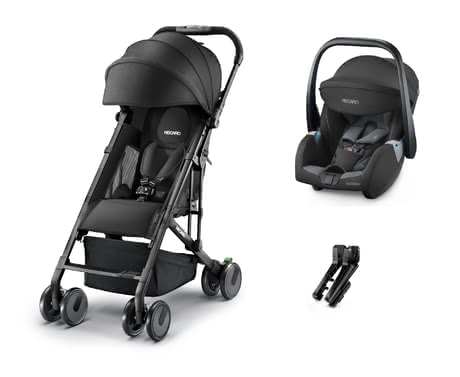 Recaro嬰兒輕便推車Easylife Elite + 嬰兒提籃 Guardia -  * The Recaro Buggy Easylife is the ideal companion in everyday life with an infant. With a low weight of only 6 kg, as well as its compact folding size, the buggy can be stored quickly so that transporting it is as easy as possible for you.