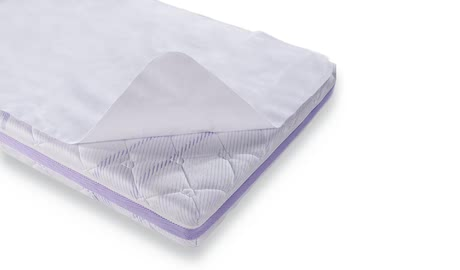 Träumeland防潮防尿床墊 -  * The skin-friendly Träumeland Molton cover is a waterproof mattress cover which reliably protects every mattress from being penetrated by moisture and thus offers a hygienic sleeping space.