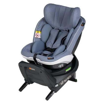 BeSafe兒童安全汽座座椅iZi Twist i-Size -  * As a rear-facing child car seat, the BeSafe iZi Twist i-Size transports infants up to an age of about 4 years 5 times safer in a rear-facing mode.