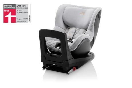 Britax Römer兒童安全汽車座椅 雙面騎士Dualfix M i-Size – 特別版 Nordic Grey -  * The child safety seat Dualfix M i-Size is approved for being used for children with a body height between 61 cm and 105 cm and thus stands out as the ideal child car seat that follows an infant car seat.