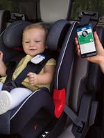 Chicco Easy-Tech 兒童安全汽車座椅 安全夾 -  * The Chicco BebèCare Easy-Tech is a safety-related accessory for your child car seat, which reminds you that your child is still sitting in the child car seat when getting out of the car.
