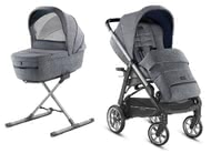 Inglesina兒童推車Aptica – Kit System Duo -  * The distinctive glamorous style of this pushchair will delight trend-conscious and modern parents immediately. The Aptica is not only a sporty companion, it also scores with convenient handling and plenty of comfort for your tiny human.