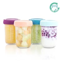 Babymoov嬰兒食物分裝罐 玻璃材質-4件裝 -  * Are you looking for the perfect solution to store your baby's food? Then, you are absolutely right here! The Babymoov glass Babybols storage set offers you the most convenient way, to keep your little one's food fresh.