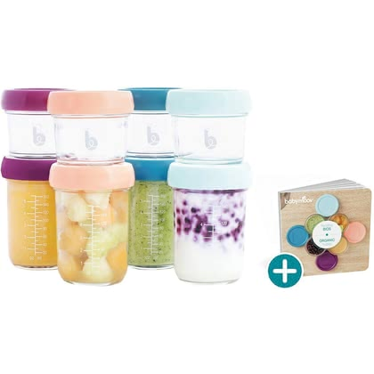 Babymoov嬰兒食物分裝罐– 多件裝 -  * Are you looking for the perfect solution to store your baby's food? Then, you are absolutely right here! The Babymoov glass Babybols multiset offers you the most convenient way, to keep your little one's food fresh.