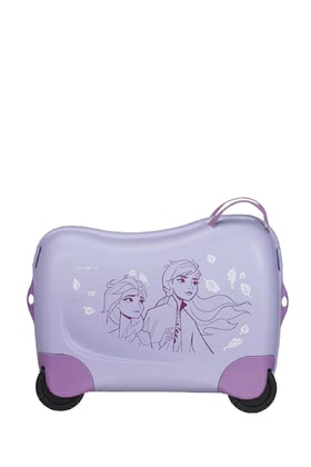 "Samsonite 新秀麗迪士尼 冰雪奇緣2輪兒童行李箱 -  * The bright coloured kids' suitcase Dreamrider by Samsonite will turn every trip into an exciting and fun adventure for your little one. This brand-new collection features ""Frozen 2"" and comes with cute child-appropriate motifs that will delight all little Disney fans out there immediately."