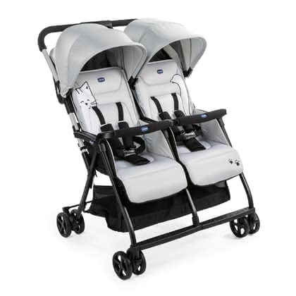 Chicco 雙胞胎輕便推車 OHlalà Twin -  * Twice the lightness, twice the comfort: the OHlalà Twin is Chicco's new ultra-light and ultra-compact double buggy perfect for your two little bundles of joy.