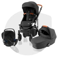 Britax Römer兒童推車 SMILE III – 加強版套裝 -  * ✓ from birth ✓ easy change between the travel systems ✓ including seat unit, carrycot, infant car seat Baby Safe² i-Size ✓ air-filled tires ✓ for town and country