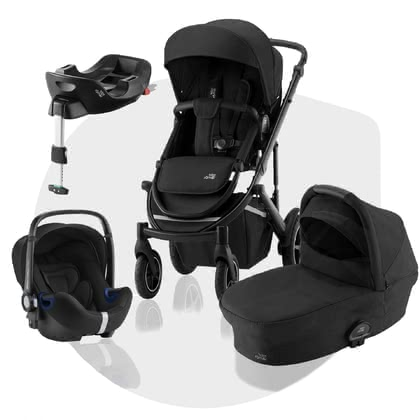 Britax Römer Stroller SMILE III – Comfort Plus Bundle Space Black 2021 - 大圖像