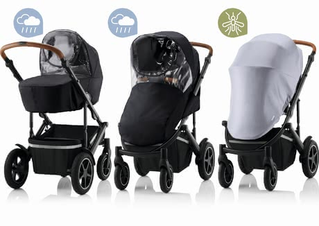 Britax Römer 防護罩套裝適用於 SMILE III -  * The Britax Römer weather kit stands out as the ultimate must-have accessory when buying a SMILE III.