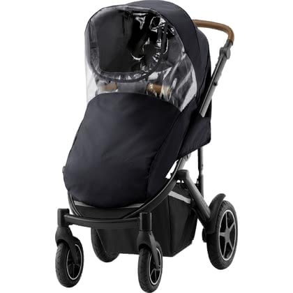 Britax Römer雨罩適用於兒童推車 SMILE III -  * The high-quality rain cover for your stroller SMILE III protects your little one from wind and rain at all times.
