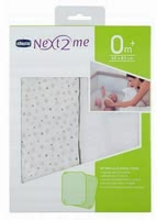 Chicco 床罩適用於 附加嬰兒床Next2Me, 2件裝 -  * ✓ fitted sheets made of pure cotton ✓ breathable and skin-friendly ✓ perfect fit ✓ washable up to 40 ° C ✓ for all Chicco Next2Me co-sleepers
