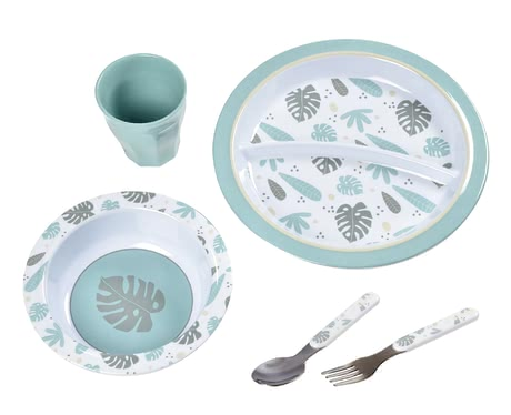 Béaba餐具套裝– 禮品盒包裝 -  * There is nothing better than enjoying every bite of one's meal! With the adorable Béaba meal set, your child is well equipped for every mealtime.