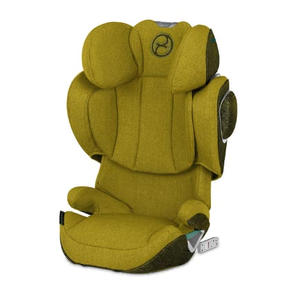 Cybex Platinum 鉑金版兒童安全汽車座椅 Solution Z i-Fix Plus Mustard Yellow - yellow 2021 - 大圖像