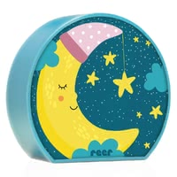 Reer 夜燈 MyBabyLight Mond -  * The MyBabyLight night light enchants the sleeping environment into a comfortable atmosphere and helps your child to fall asleep easily