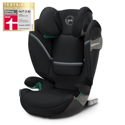 Cybex Gold系列兒童安全汽車座椅Solution S i-Fix Deep Black - black 2020 - 大圖像
