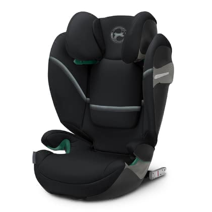 Cybex Gold系列兒童安全汽車座椅Solution S i-Fix Deep Black - black 2021 - 大圖像