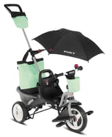PUKY Tricycle CEETY Comfort - * A functional tricycle with comfy features - the new perfection in parent-child mobility - Puky CEETY Comfort.