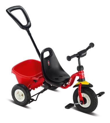 Puky 兒童三輪車CEETY Air -  * The new Puky tricycle CEETY Air features air tyres and is suitable for little racers from the age of 2. It provides plenty of comfort, promotes the coordination of arms and legs and trains motor skills.