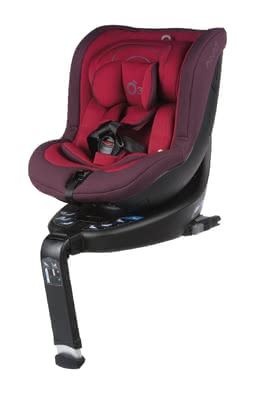 Be Cool 兒童安全汽車座椅 o3 lite - The Reboarder o3 lite is certified according to the i-Size safety regulation and transports newborns from 40 cm up to 105 cm safely in a rear-facing mode.