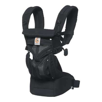 Ergobaby嬰兒背帶Omni 360 Air Mesh Onyx Black - 大圖像