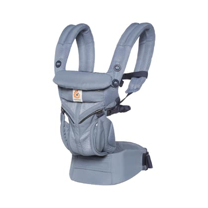 Ergobaby嬰兒背帶Omni 360 Air Mesh -  * The Ergobaby Omni 360 Air Mesh accompanies you and your baby right from birth up to toddlerhood. Thanks to the breathable mesh fabric, the baby carrier feels pleasantly cool for both of you.