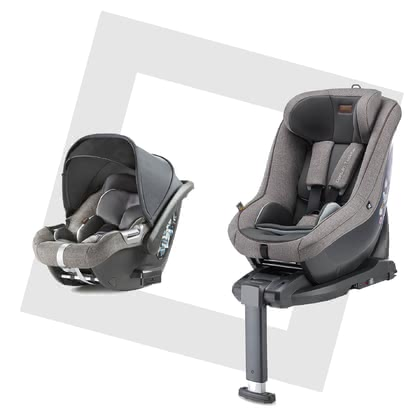 Inglesina組合系列DARWIN i-Size -  * A smart security concept – the Inglesina DARWIN i-Size modular system. With just one base, your little one rides safely in your car right from birth and switching to the successor car seat later on, is done easily.