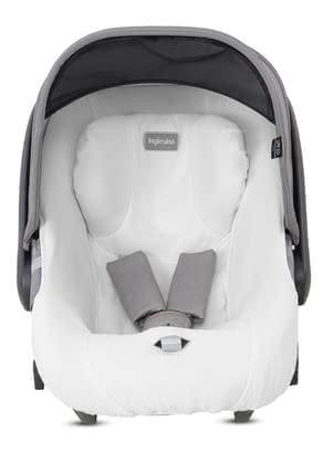 Inglesina夏季椅套適用於嬰兒提籃Cab/DARWIN -  * The breathable, sweat-absorbing summer cover can be pulled over the regular cover of your Inglesina infant car seat in a quick and easy way.