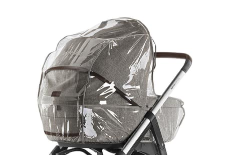 Inglesina Rain Cover for Carrycot -  * Protect your little one on rainy days. With this practical rain cover, your child remains well protected from wind and weather.